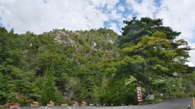 昇仙峡入り口から珍しい光景へのトレッキングがスタート!