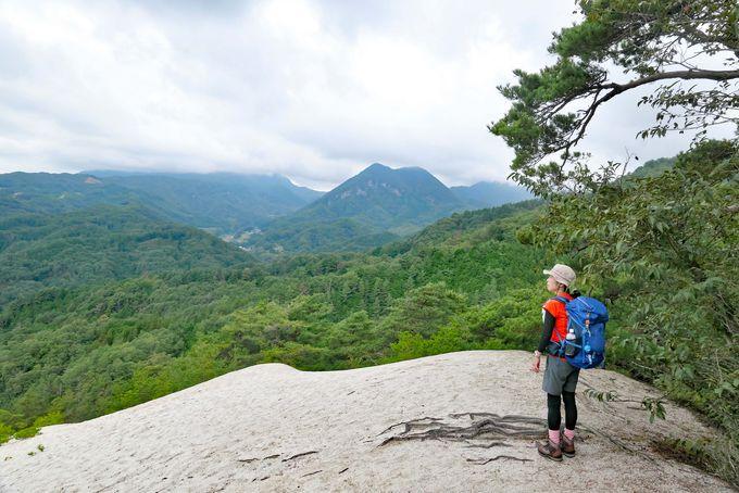 驚きの裸山!白く広がる山梨・白砂展望台と白砂山トレッキング