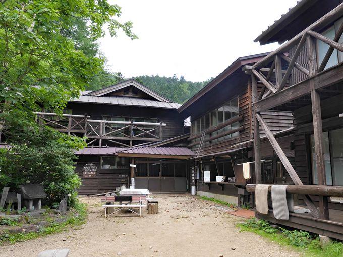 天狗岳のふもと標高2150m!「本沢温泉」はキャンプも可能