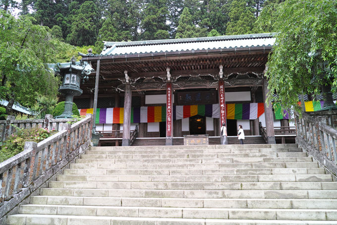 登山口の大雄山最乗寺で二年詣をしてから