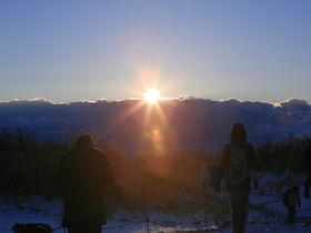二年詣とご来光と富士山!箱根・明神ヶ岳トレッキング