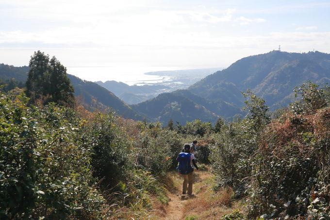 展望の広がる丘から大展望の満観峰へ
