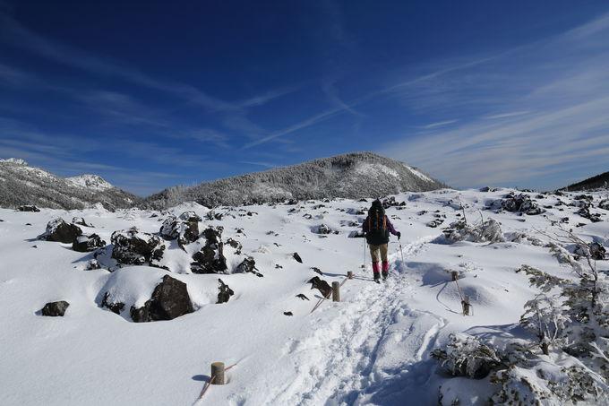 北八ヶ岳に位置する「北横岳」はスノーリゾートの拠点