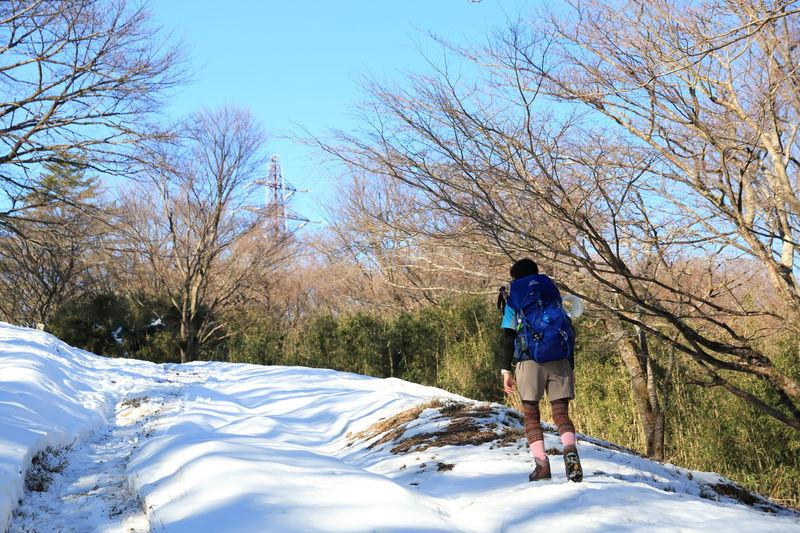 冬の箱根トレッキング!降雪後は雪も楽しむ駅からの湯坂路