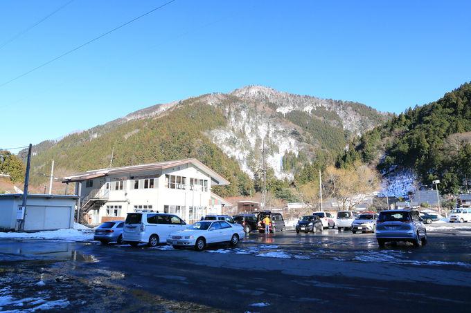 アクセスのよい葛川坊村町からスタートする雪山トレッキング