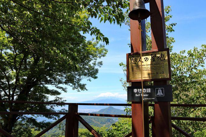 葛城山へはロープウェイでも!恋人の聖地で鐘を鳴らす