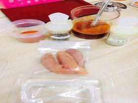 博多の食と文化の博物館「ハクハク」でmy明太子作り体験!世界に1つだけの明太子をお土産に!