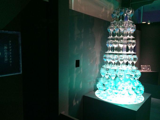 シャンパングラスタワー「海の月光浴」