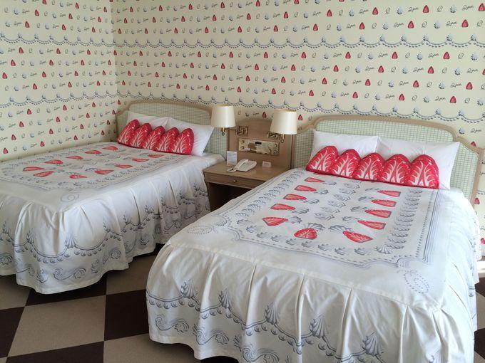 ホイップ&ストロベリー・ベッドルーム