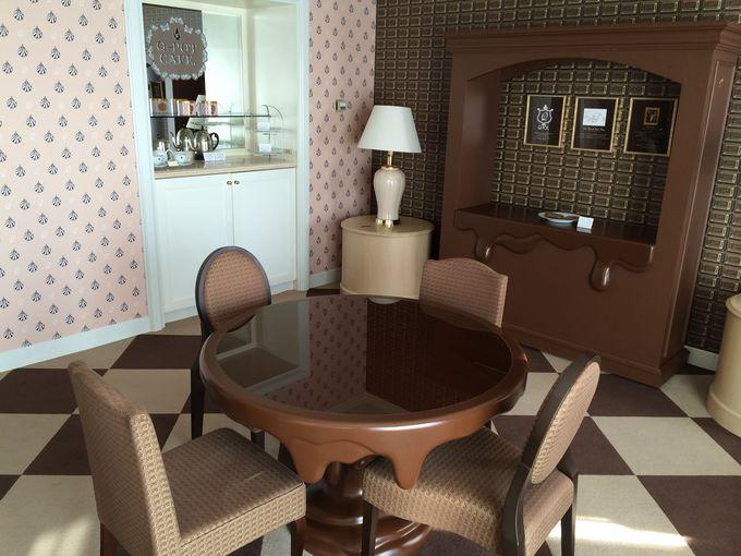 ビターチョコレート・リビングルーム