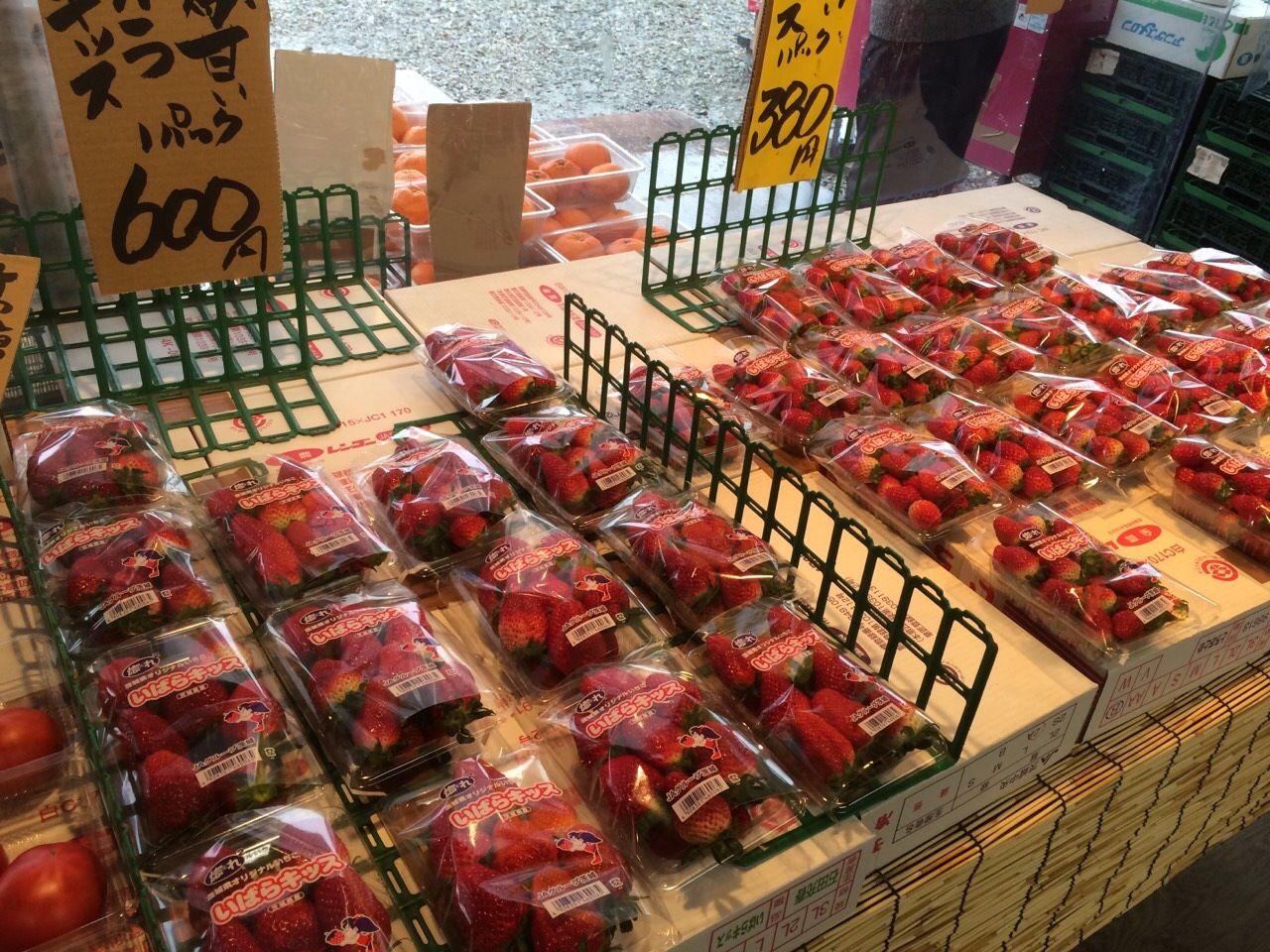 華野果市場のフレッシュフルーツ