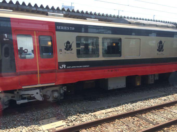 フルーツ王国ふくしまのスイーツ列車