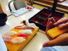 伊豆高原でにぎり寿司体験!食事処あかざわで生わさびのきいたオリジナル寿司を食べよう!