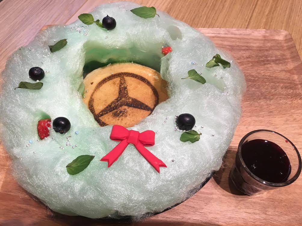 華やかな季節限定パンケーキも!