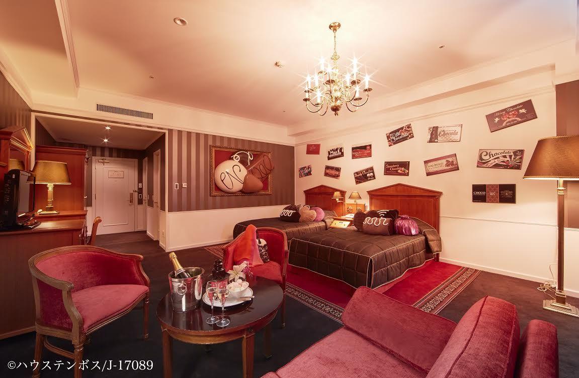 長崎・ホテルアムステルダムの1日1組限定チョコレートルームで甘いひと時!
