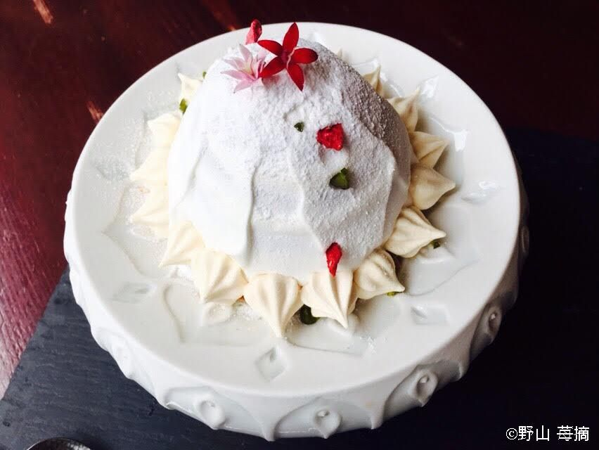 まるでケーキのようなパルフェも!