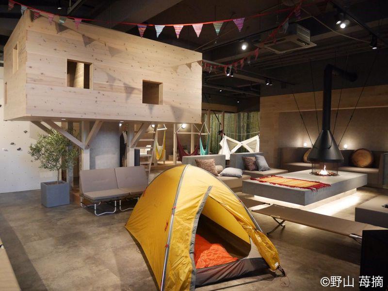 お風呂×グランピング!熊谷・おふろカフェビバークでオトナの秘密基地体験!