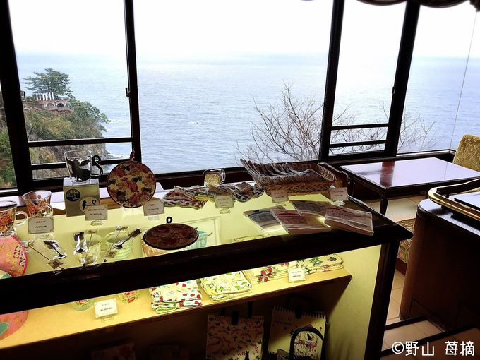 相模湾と錦ヶ浦の断崖を一望できる絶景スポット!