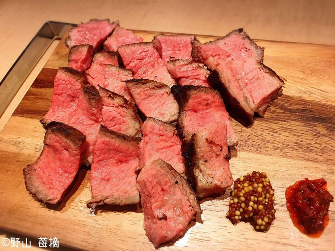 肉をメインテーマにしたラグジュアリーなスパニッシュイタリアン