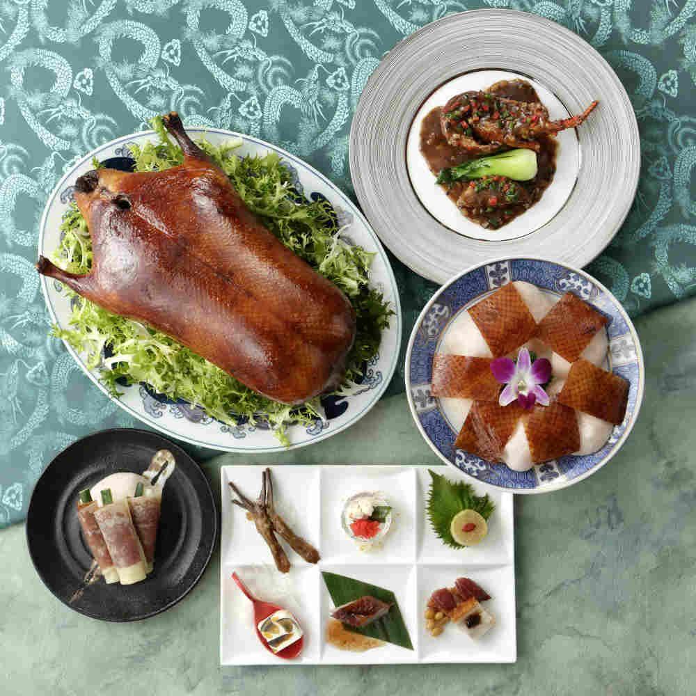 鴨を余すところなく食べ尽くす「北京ダックフェアコース」