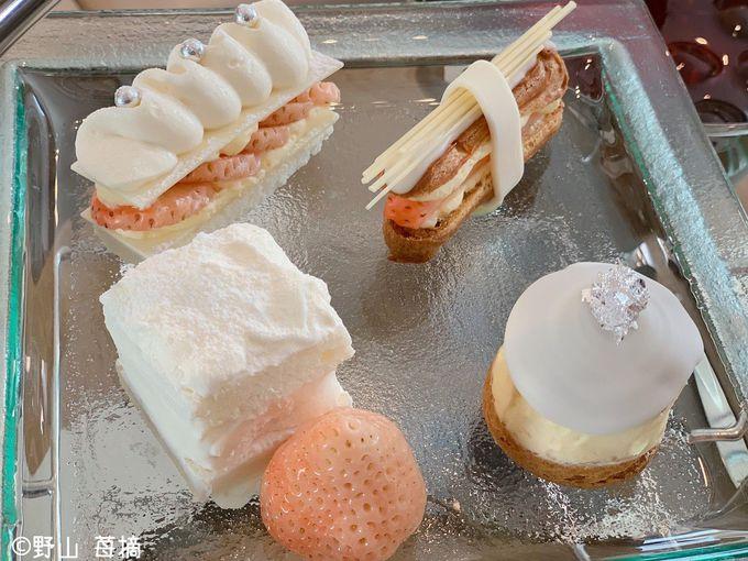 白いちごとホワイトチョコレートのステキな出会い!