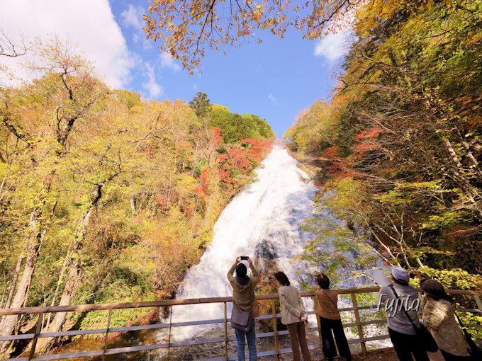 奥日光・湯滝の紅葉見頃時期を狙って行こう!