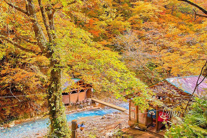 夏油温泉・元湯夏油は紅葉の名所です!
