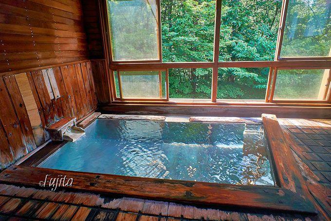 緑豊かで泉質最高!温泉が素晴らしい「ホテル樹林」