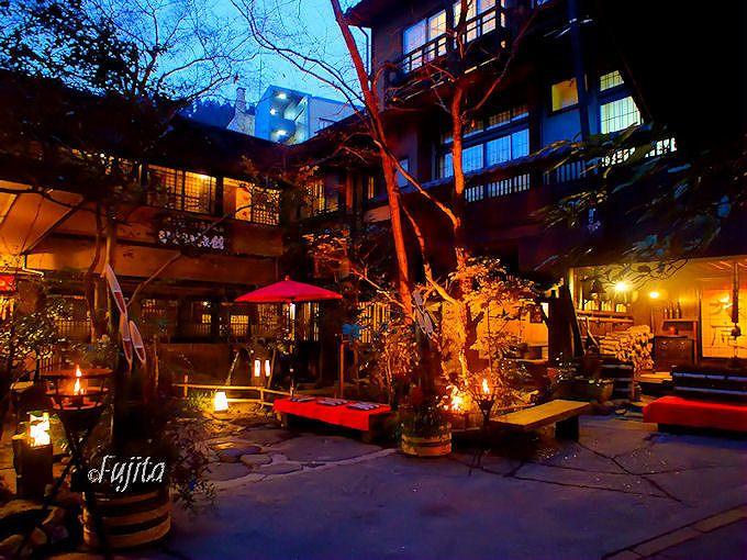 黒川温泉「湯あかり」見物後の冷えた体は「いこい旅館」で温めよう!