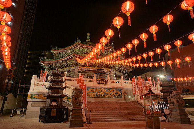 横浜媽祖廟は縁結び等のパワースポット