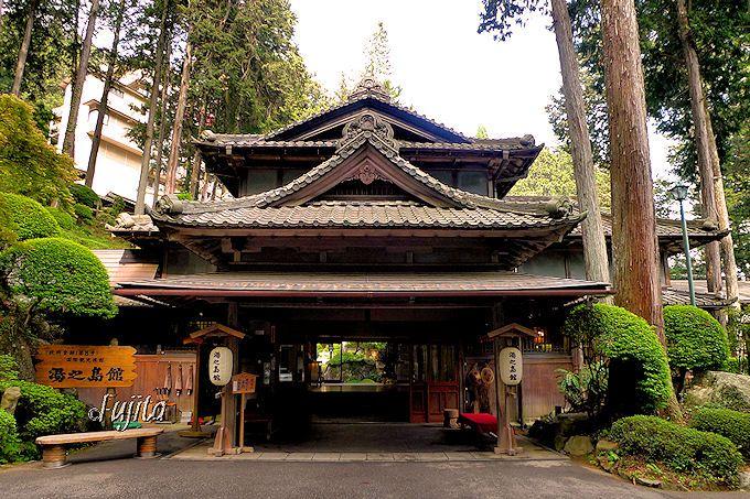下呂温泉湯之島館は登録有形文化財の宿