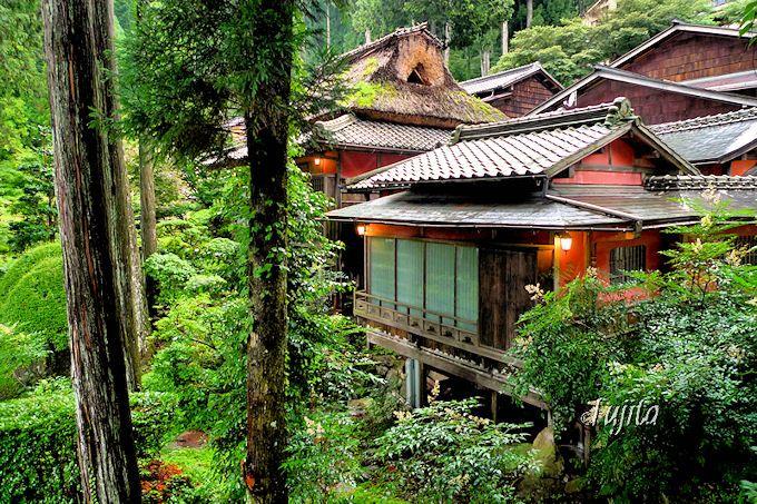 湯之島館は建築と温泉が最高!下呂温泉の登録有形文化財の宿
