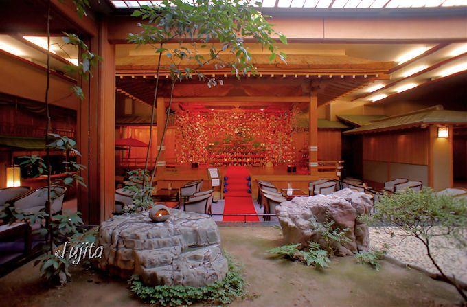 昼神温泉「石苔亭いしだ」の絶景ロビー