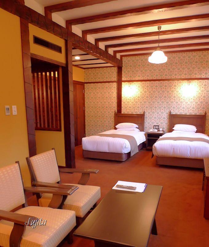 雲仙観光ホテルの客室は、スーペリアツインがおすすめ!