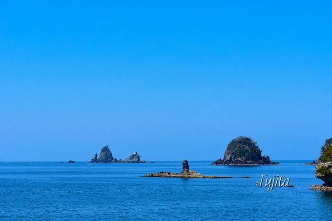 大田子海岸で「日本の夕陽百選」に選ばれた夕日を見よう!