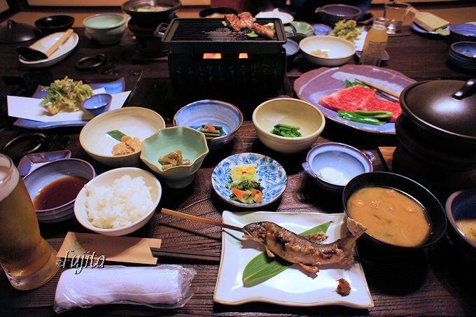 夕食で新庄東山焼の良さを知る!