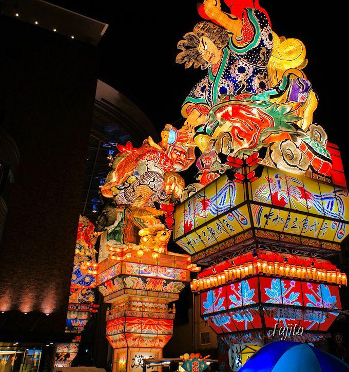 高さ23mのねぶたに驚愕!一度は見たい五所川原・立佞武多祭り