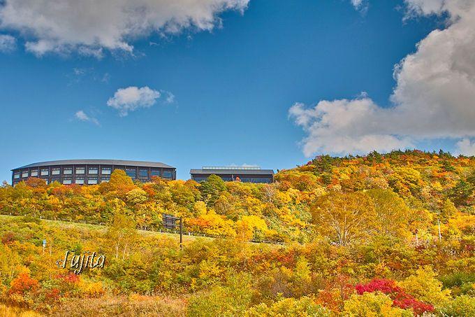 須川温泉栗駒山荘は、紅葉の絶景を一望する眺望の宿