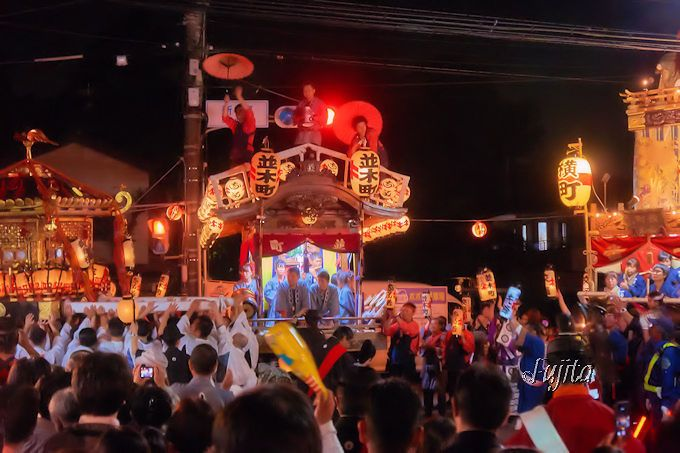 「佐倉の秋祭り」は23の神輿と屋台と山車がコラボレーション
