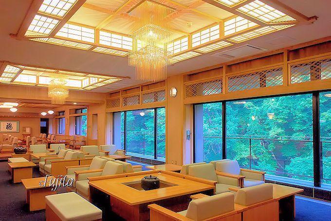 大沢温泉「山水閣」は高級なホテルで秘湯とは思えない!