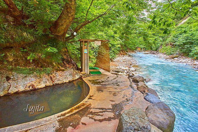 夏油温泉「湯元夏油」唯一の屋根無し露天風呂「疝気の湯」