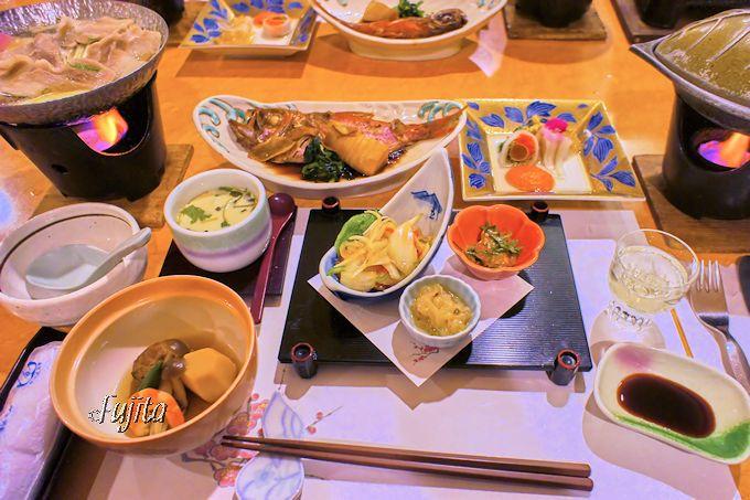 金目鯛の煮付けが美味!堂ヶ島温泉ホテルの夕食
