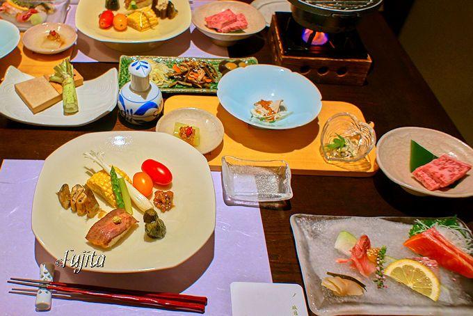 野沢温泉「旅館さかや」の夕食は、非常に洗練されています!