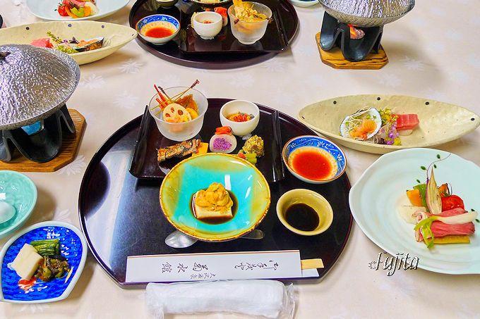 大沢温泉菊水館の夕食は、山水閣相当がおすすめ!
