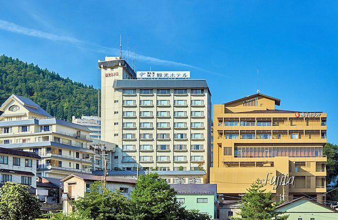 鳴子温泉で最大の客室数!鳴子ホテルの青葉館と紅葉館