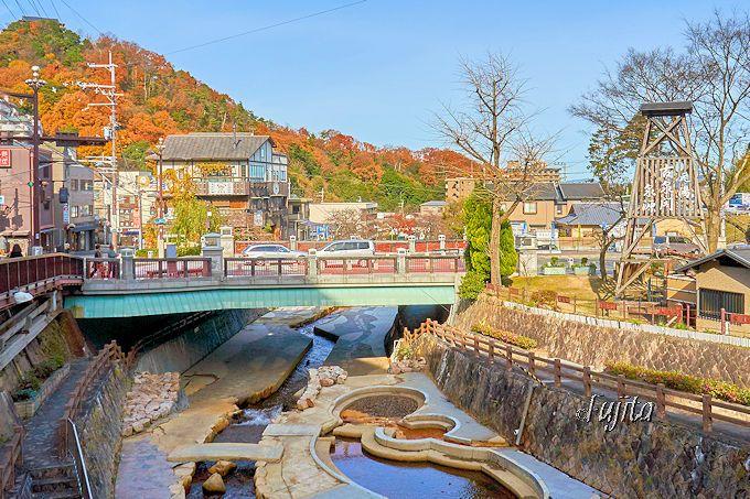 有馬温泉「古泉閣」は、温泉街中心部に自家源泉を所有