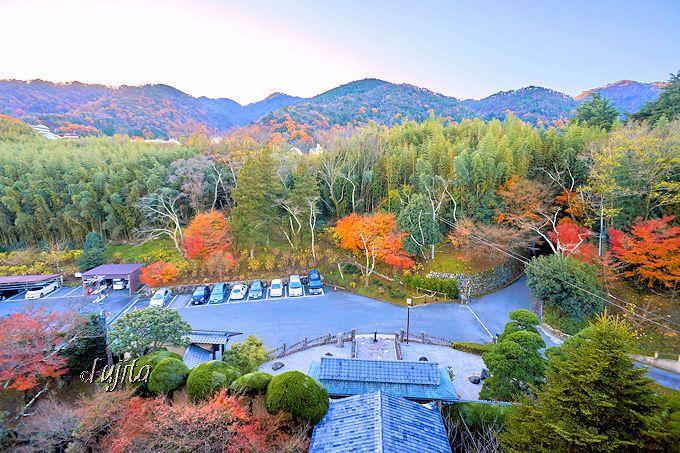 有馬温泉「古泉閣」は、客室からの眺望も絶景!