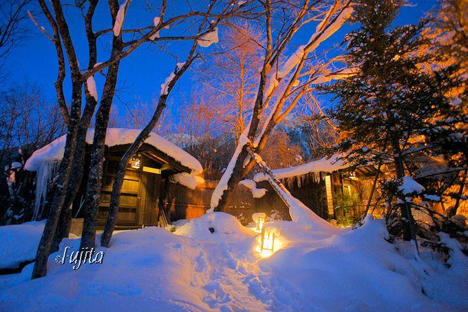 平湯温泉「匠の宿 深山桜庵」は、本格的な秘湯風情が素晴らしい!