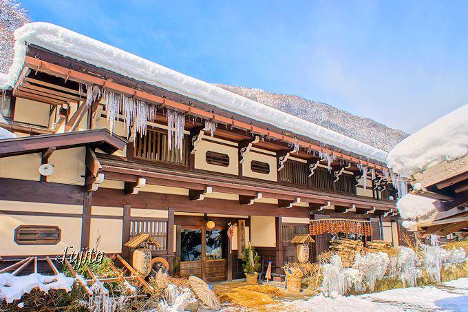 日本を代表する古民家移築の宿!