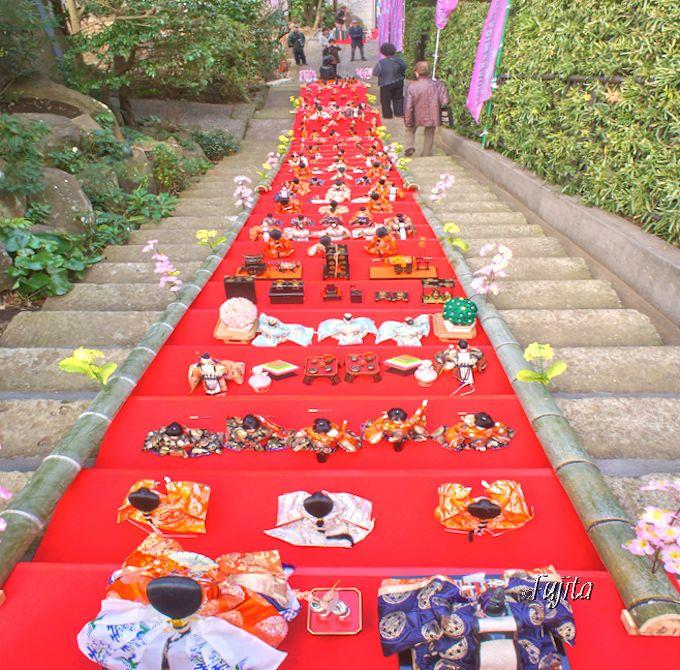 伊東MAGARI雛&KAGUYA雛の由来は、メイン会場の佛現寺で判明!